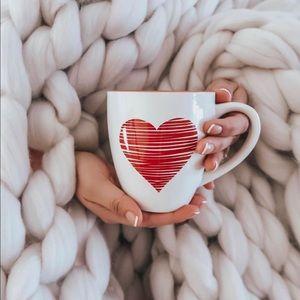 ❤️ Blogger's favorite. Heart mug